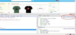 Dateiname und Zeilennummer einer CSS Angabe