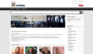 Die neue Shopsystem Version Randshop 2.4
